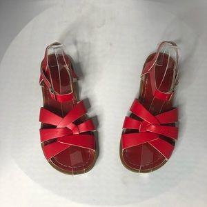 Salt Water Red Sandals